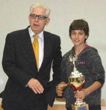 Alessio Boraso vince il torneo di Mogliano