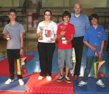 Alessio Boraso, campione Veneto under 14