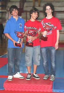 rispettivamente primo e secondo fra le categorie nazionali nella classifica complessiva dei tornei Grand Prix Veneto 2009-10.