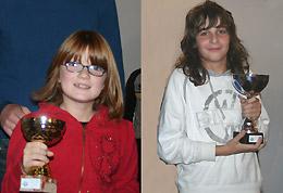 Ginevra Marchesini, 1^ bambina; Davide Trani, primo duevillese