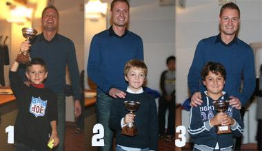 Leonardo Testa (1°), Alberto Boraso (2°), Riccardo Basso (3°)