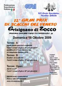 Locandina XII Gran Prix del Veneto - Grisignano di Zocco