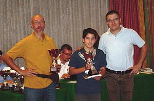 I premiati del torneo C
